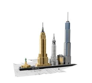 LEGO® LEGO® Architecture 21028 New York City, 598 Teile