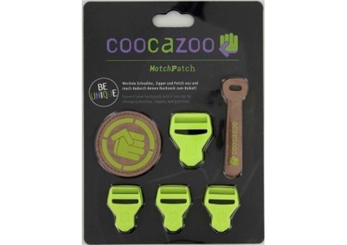 Coocazoo MatchPatch Synthetic Leather, Limepunch