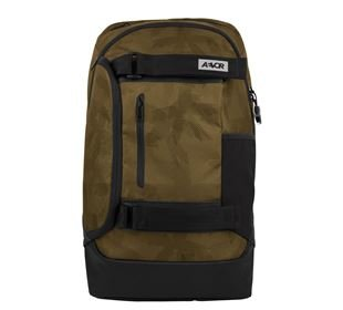 AEVOR Bookpack Palmgreen green / black
