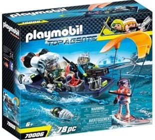 Playmobil Team S.H.A.R.K. Harpoon Craft