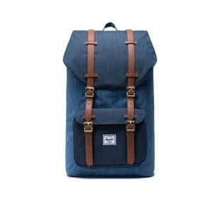 Herschel Little America Faded Denim/Indigo Denim